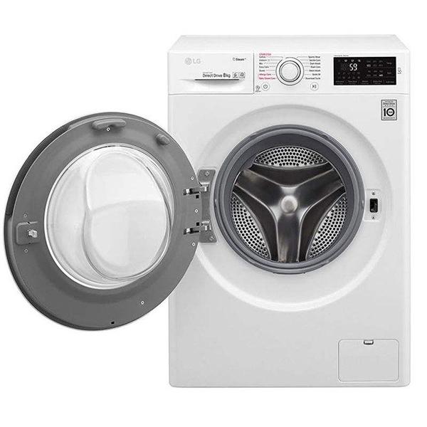 ماشین لباسشویی ال جی مدل WM-845S ظرفیت 8 کیلوگرم