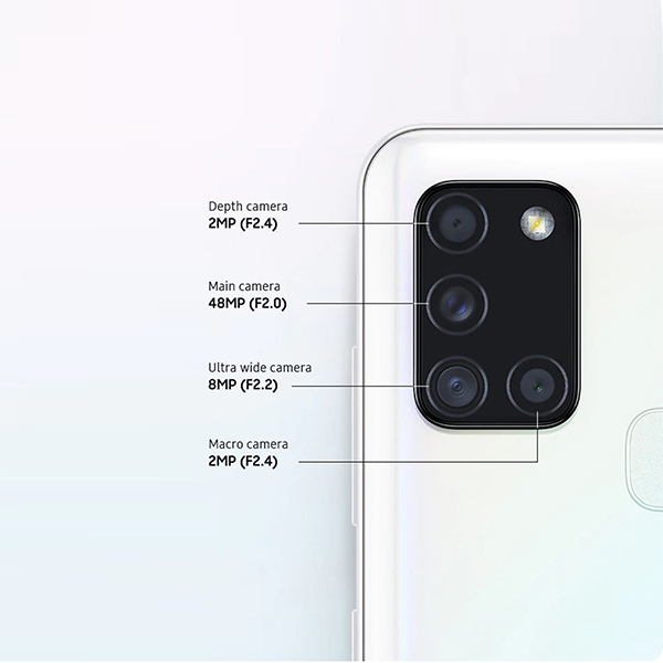 گوشی موبایل سامسونگ مدل Galaxy A21S دو سیمکارت ظرفیت 64 گیگابایت