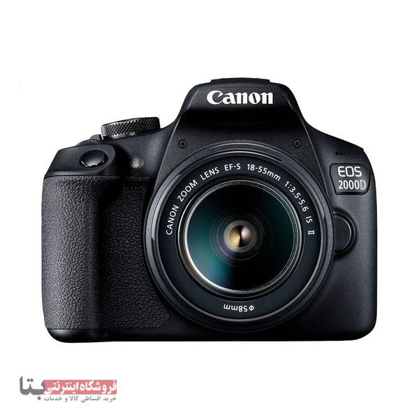 دوربین دیجیتال کانن مدل EOS 2000D به همراه لنز 18-55 میلی متر