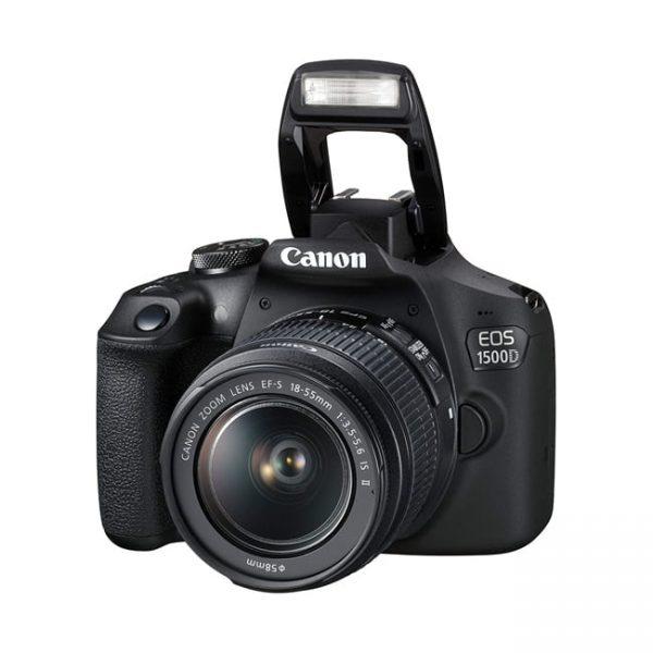 دوربین دیجیتال کانن 1500D با لنز 18-55 میلی متر IS II