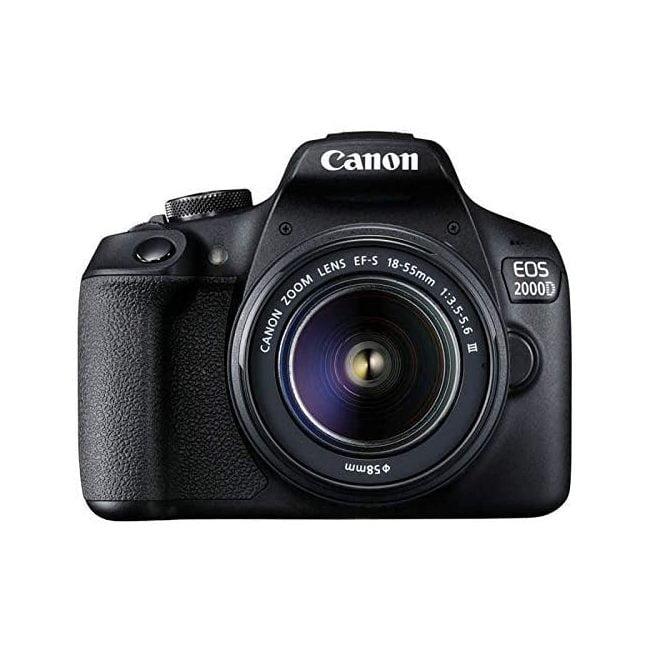 دوربین دیجیتال کانن 2000D با لنز 18-55 میلی متر DC III