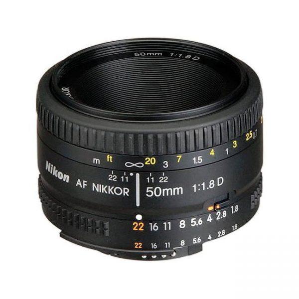 لنز نیکون Nikon AF NIKKOR 50mm f/1.8D50