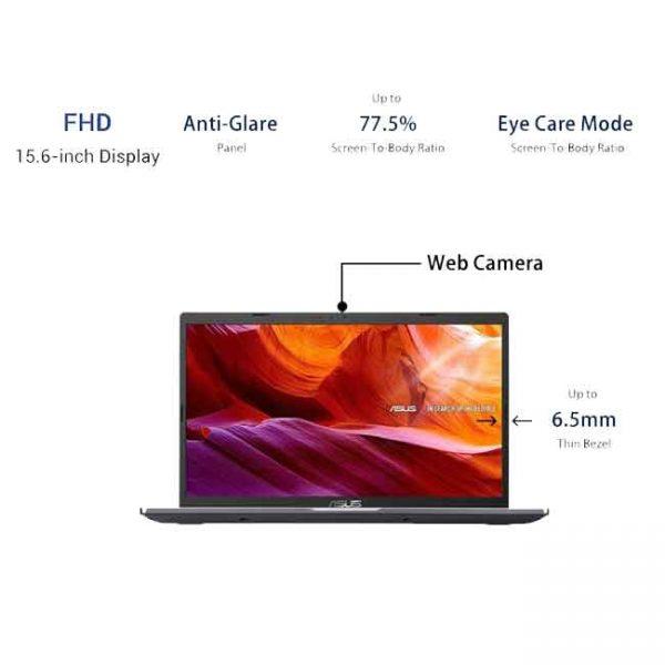 لپ تاپ 15 اینچی ایسوس X-515 JA i3 -(خاکستری)